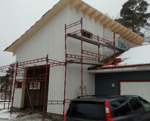 garage building in Rimbo