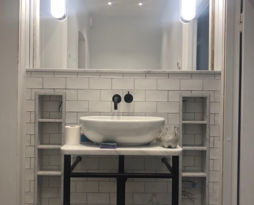 Bathroom renovation Stockholm